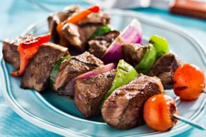 Seasoned Beef Kabobs