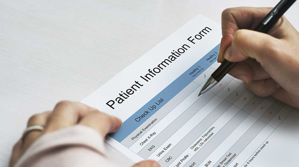 New Patient Forms