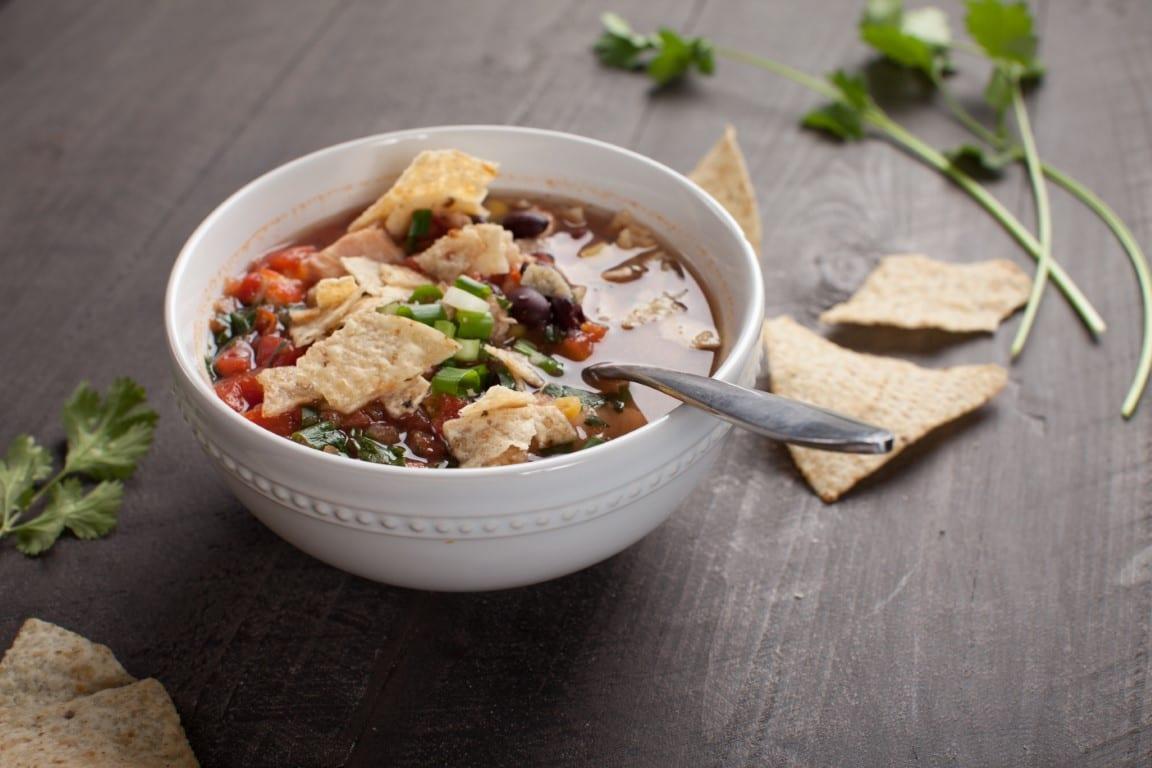 Easy Chicken Taco Soup