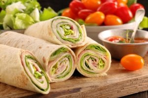 Ham and Pineapple Wrap