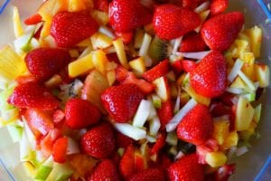 Rainbow Fruit Salsa