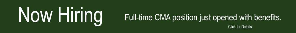 CMA Job Opening