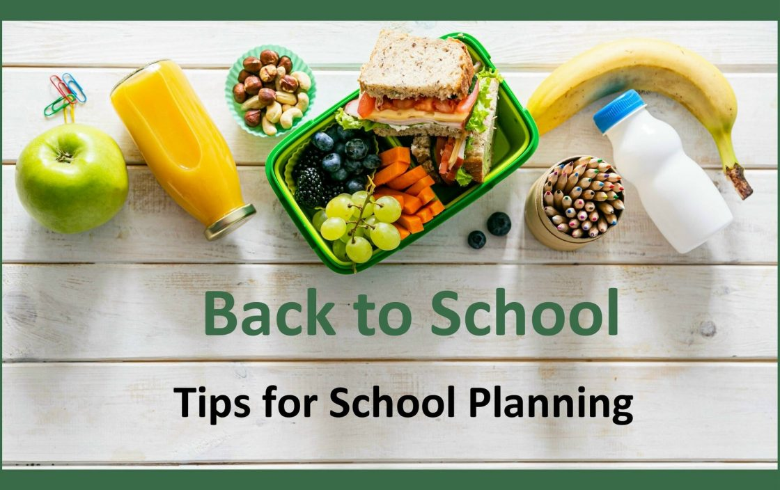 Back to School - Tips for School Planning